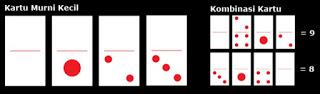 Kartu Murni Kecil domino
