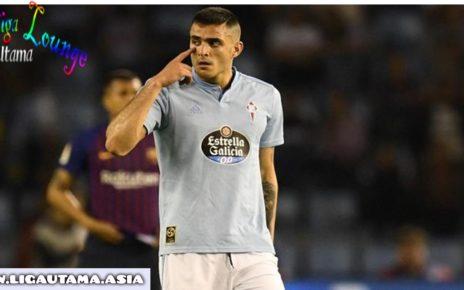 Maxi Gomez Striker Masuk Radar Barcelona