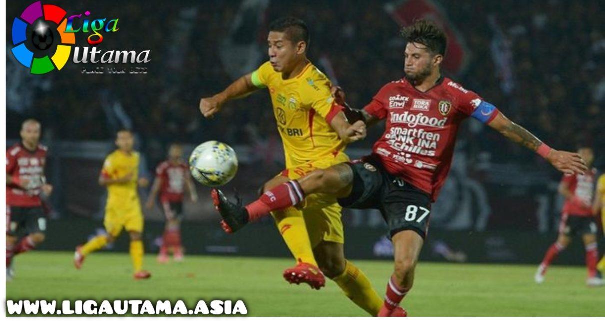 Bali United VS Bhayangkara Menang Tipis