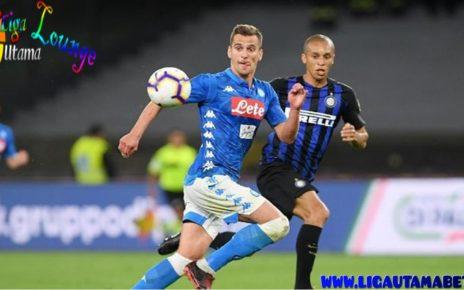 Hasil LigaItalia Napoli Hajar Inter 4-1
