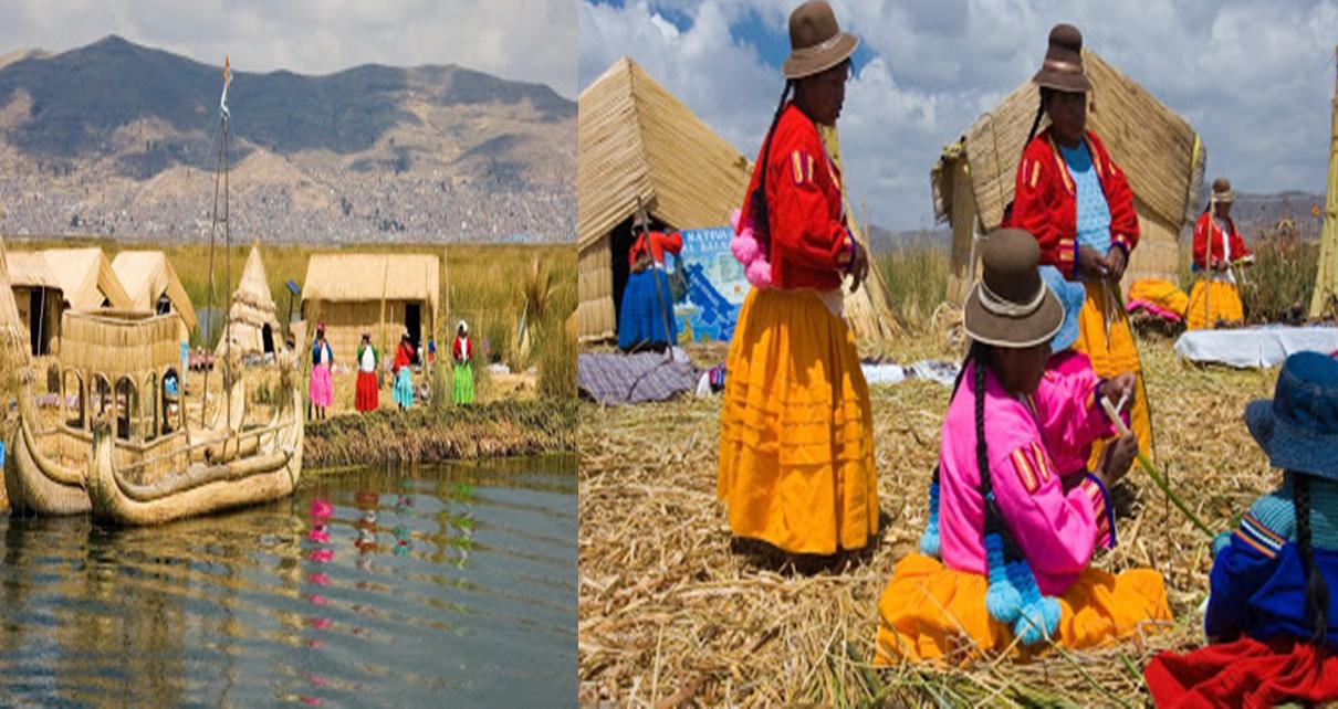 Sangat Exotis Desa Terapung Danau Titicaca