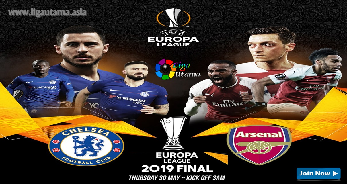 Final Chelsea vs Arsenal Liga Europa