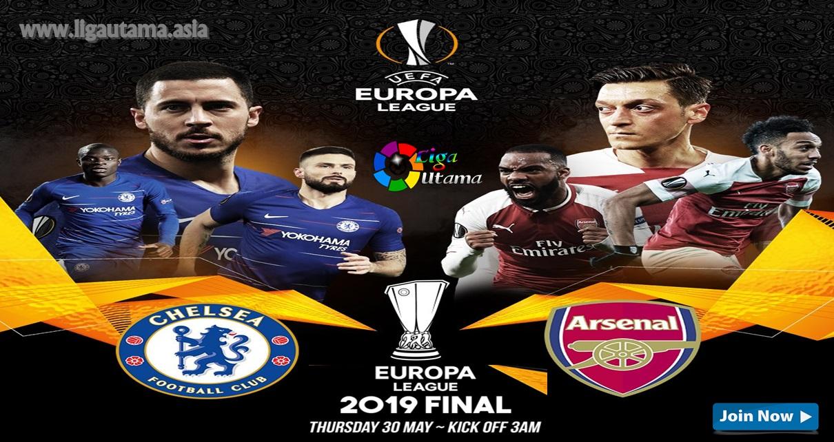 Final Chelsea vs Arsenal Liga Europa