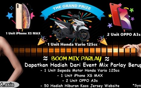 EVENT BOOM MIX PARLAY