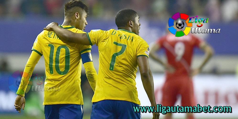Brazil Bantai Peru 5-0 Laga Pamungkas