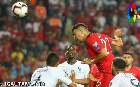 Kualifikasi Piala Eropa Prancis 0-2 Turki