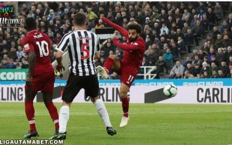 Salah Bawa The Reds Unggul 1-0