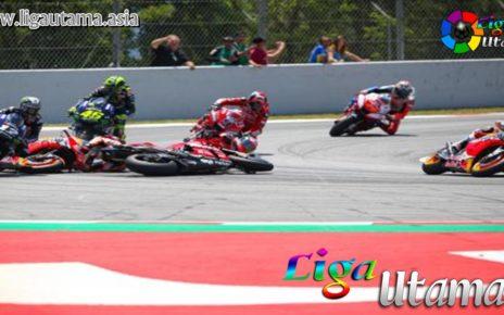 Jorge Lorenzo Kecelakaan di MotoGP Catalunya