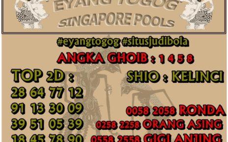 PREDIKSI TOGEL SINGAPORE POOLS 03 JULI 2019