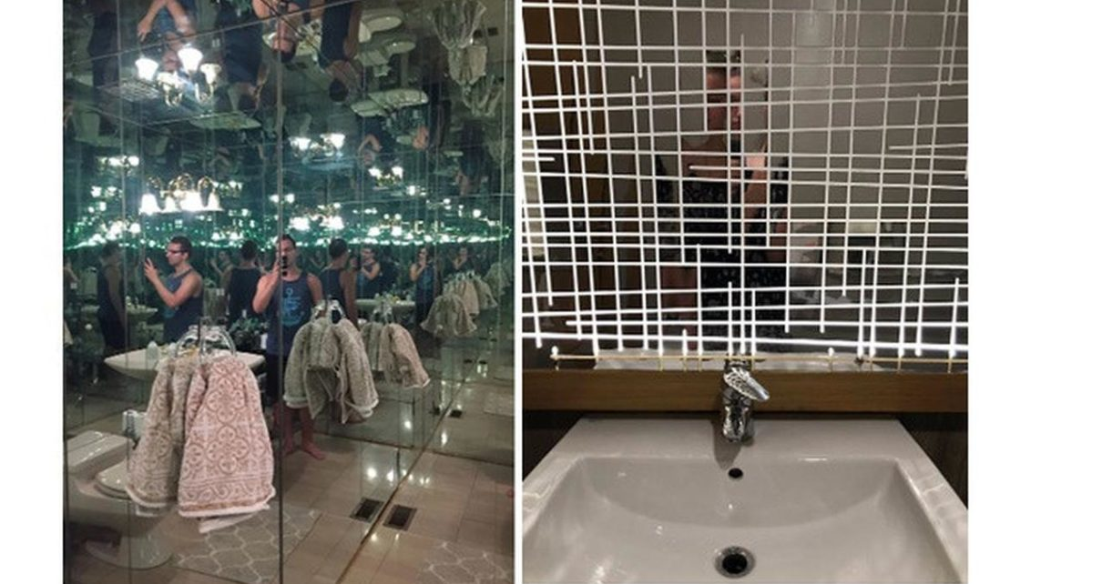 5 Desain Cermin di Kamar Mandi Bikin Kening Berkerut