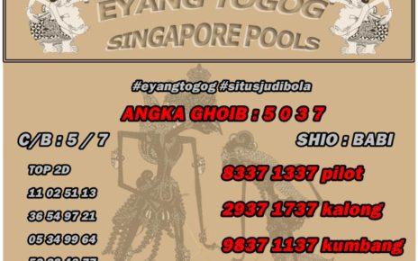 PREDIKSI TOGEL SINGAPORE 8 JULI 2019