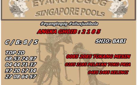PREDIKSI TOGEL SINGAPORE 22 JULI 2019