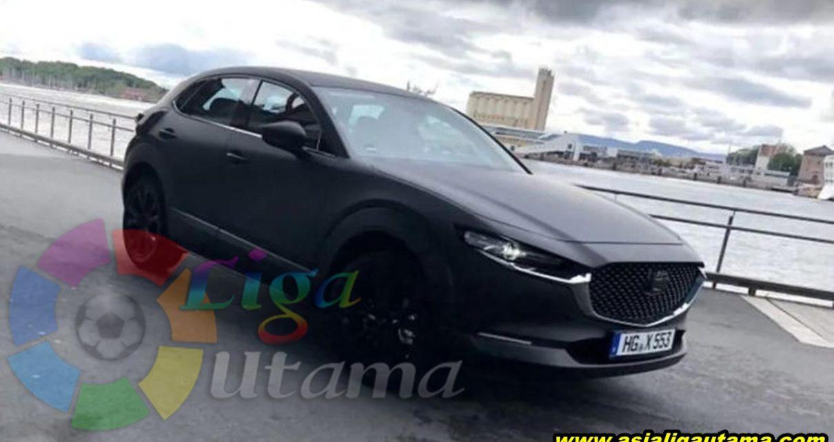 Mobil Listrik Perdana Mazda Tertangkap Kamera
