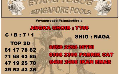 REDIKSI TOGEL SINGAPORE 26 AGUSTUS 2019