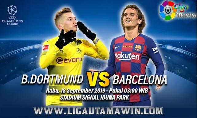 Prediksi Borussia Dortmund vs Barcelona 18 September 2019