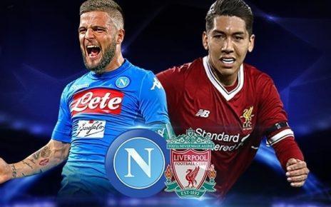 Prediksi Napoli vs Liverpool 18 September 2019