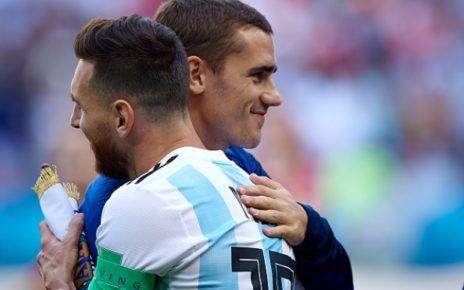 Costa: Griezmann Dari Dulu Ingin Main Bareng Messi