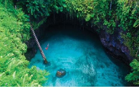 7 Kolam Natural Terindah di Dunia