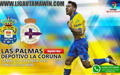 Prediksi Skor Las Palmas Vs Deportivo La Coruna 14 Oktober 2019
