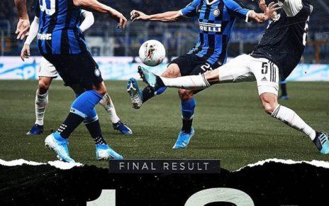 Hasil Pertandingan Inter Milan vs Juventus: Skor 1-2