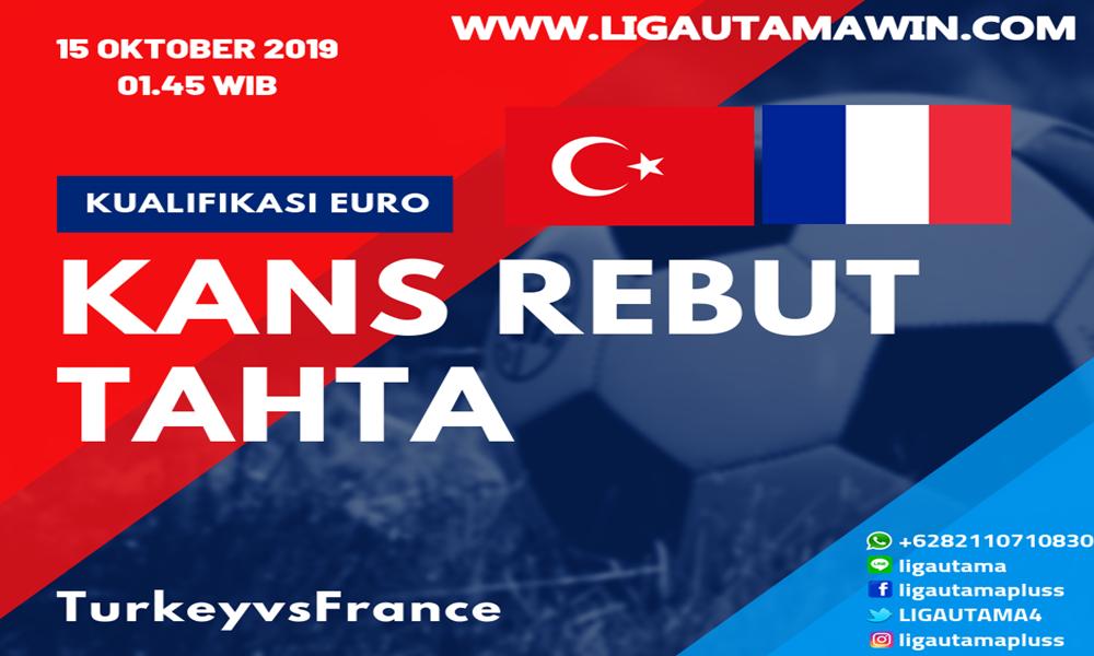 Prediksi Prancis vs Turki 15 Oktober 2019