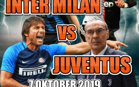 Data dan Fakta Serie A: Inter Milan vs Juventus
