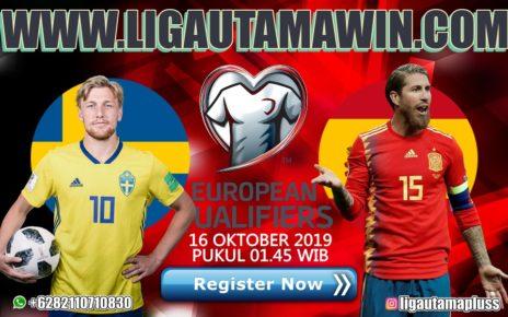 Prediksi Swedia vs Spanyol 16 Oktober 2019