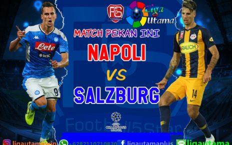 Prediksi: Napoli vs RB Salzburg