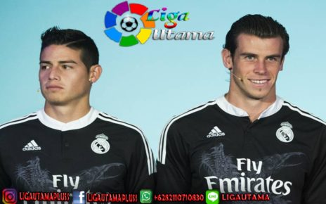 Real Madrid vs Real Betis: Gareth Bale dan James Rodriguez