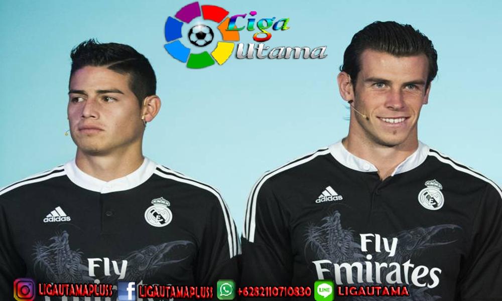 Real Madrid vs Real Betis: Gareth Bale dan James Rodriguez
