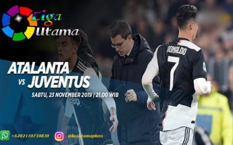 Prediksi Atalanta vs Juventus 23 November 2019