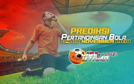 PREDIKSI PERTANDINGAN BOLA 04-05 November 2019
