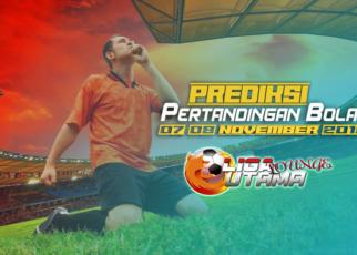 PREDIKSI PERTANDINGAN BOLA 07-08 NOVEMBER 2019