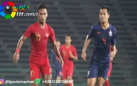 Thailand vs Indonesia di SEA Games