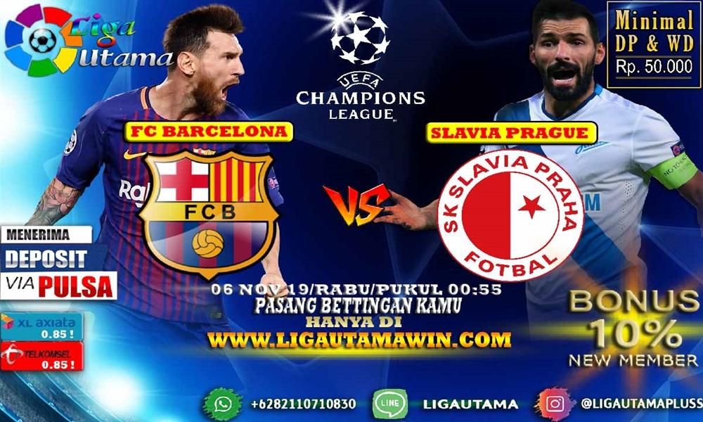 Prediksi Barcelona vs Slavia Praha 6 November 2019 Sudah sangat lama sejak terakhir kali Barcelona menelan kekalahan kandang di Liga Champions Eropa