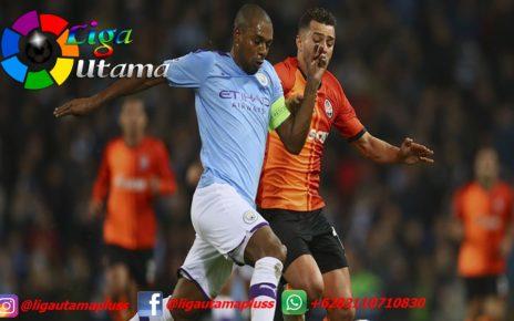 Statistik Man City vs Shakhtar