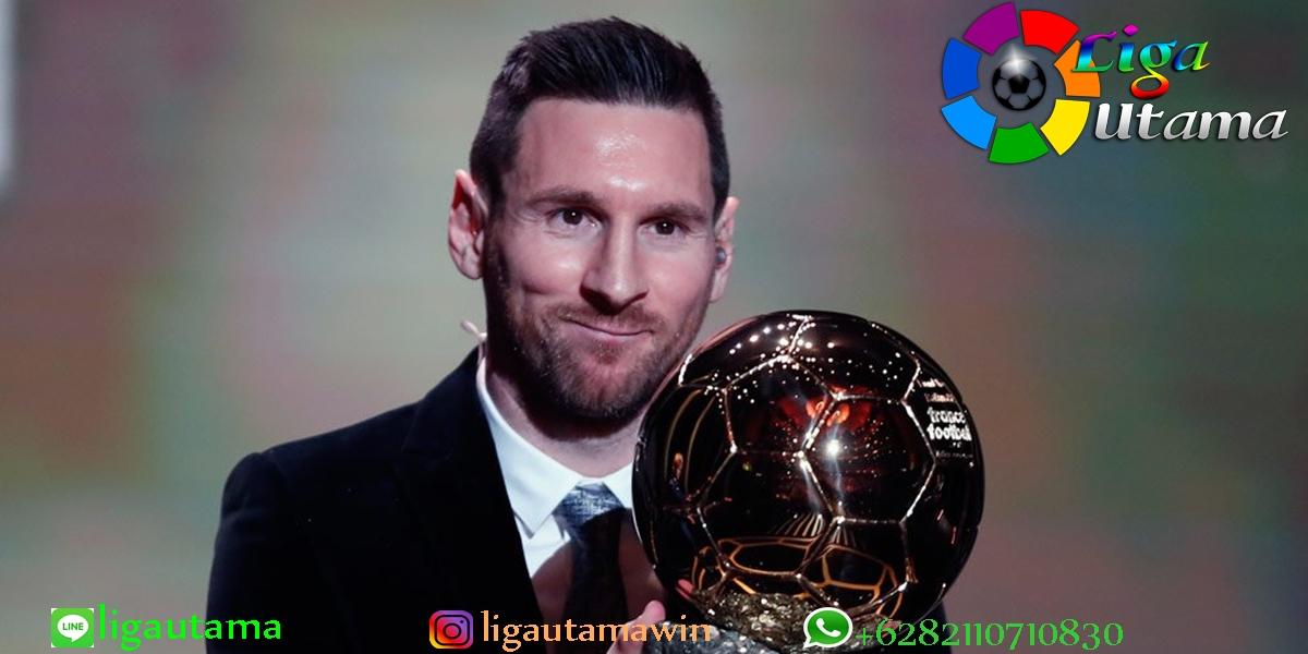 Agen Cristiano Ronaldo: Gelar Ballon d'Or Lionel Messi Tidak Adil!