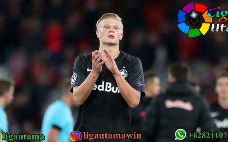 Erling Haaland Hiraukan Rumor Manchester United dan Juventus