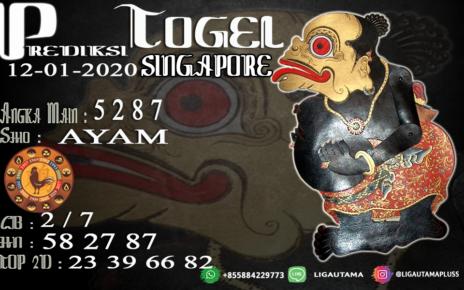 PREDIKSI SINGAPORE 12 JANUARI 2020
