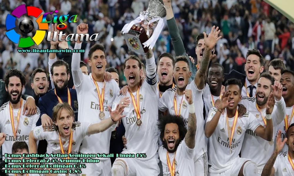 Real Madrid Dapat Hadiah Uang Rp182 Milyar