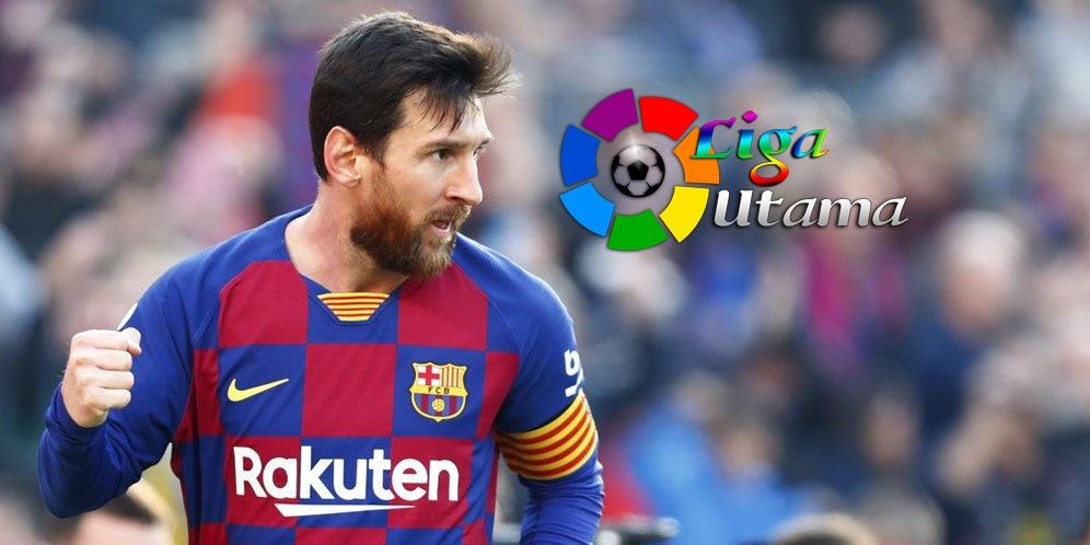 Lionel Messi Cetak Quattrick Lawan Eibar