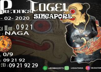 Prediski Togel Singapore 22 Februari 2020
