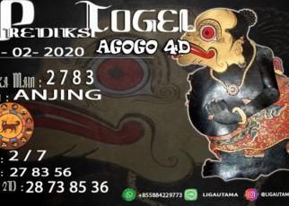 Prediski Togel AGOGO4D 23 Februari 2020