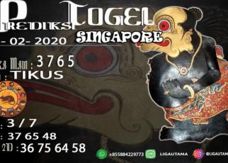 Prediski Togel Singapore 23 Februari 2020