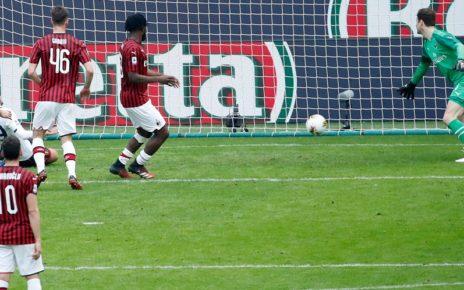 Hasil Pertandingan AC Milan vs Genoa : Skor 1-2