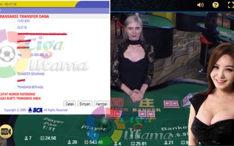 Menang Live Casino Di Liga Utama 15 Juta