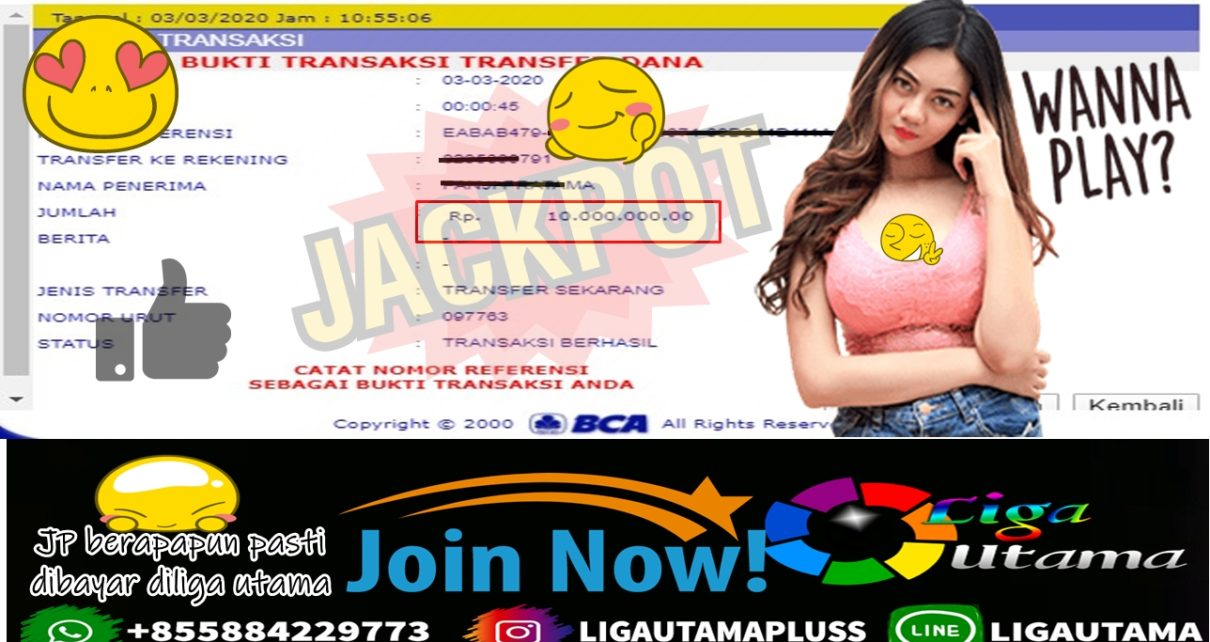 Jackpot Parlay Liga Utama 03 Maret 2020