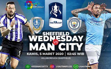 Prediksi Sheffield Wednesday VS Manchester City 5 Maret 2020