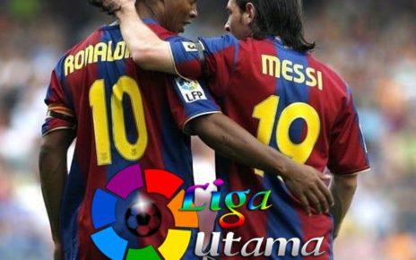 Cuma Messi yang Ada di Atas Ronaldinho