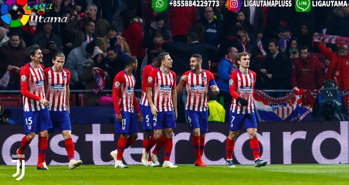 Skuat Atletico Madrid Juga Potong Gaji 70 Persen